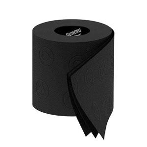 Black Toilet Paper Rolls