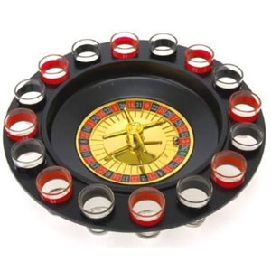 Bo-Toys Drinking Game Glass Roulette
