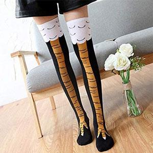 Crazy Funny Chicken Legs Knee