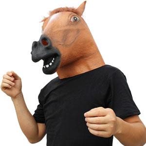 Masque de tête d'animal effrayant