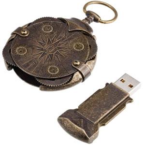 Cryptex Round Lock Compass