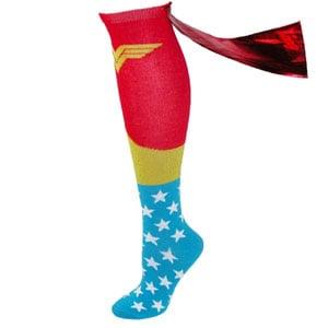 DC Comics Wonder Woman Cape Socks
