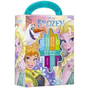 Disney Frozen My First Library Board Book Block 12-Book Set