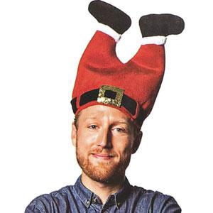 DomeStar Santa Pants Hat