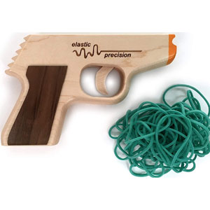 Elastic Precision Rubber Band Gun