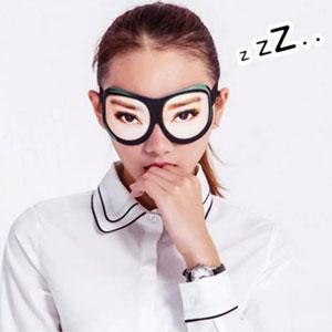 Eyes Wide Open Sleep Mask
