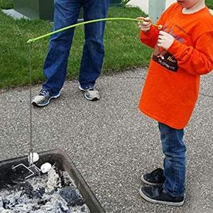 Firebuggz Fishing Pole Campfire Roaster