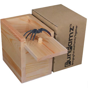 FunFamz The Original Spider Prank Box