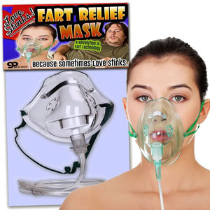 Gears Out Love Stinks Fart Relief Mask