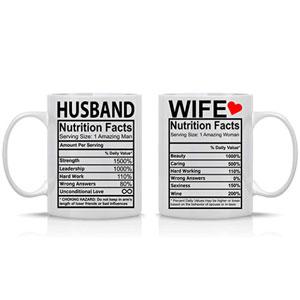 Husband And Wife Coffee Mugs