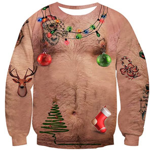 Idgreatim Ugly Christmas Sweater