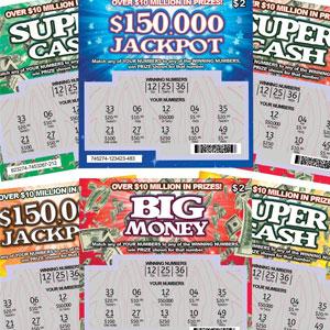 Billets de loterie de blague