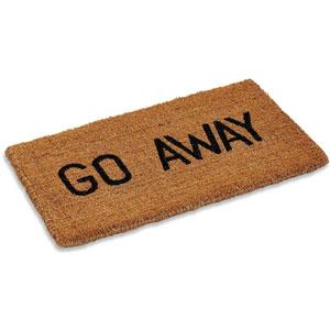 Kempf Go Away Doormat