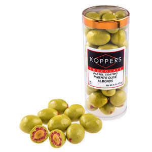 Koppers Pimento Olive Chocolate Almond