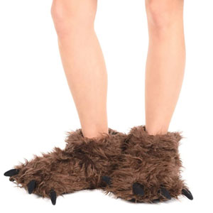 Lazy One Animal Paw Slippers
