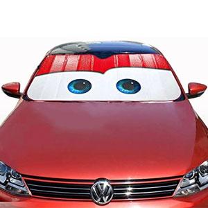 Lightning McQueen Car Sun Shade