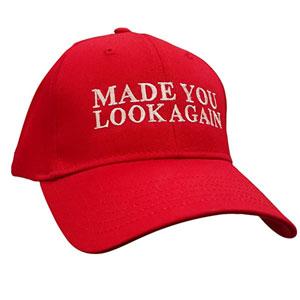 Made You Look Again Baseball Cap