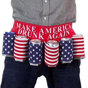 Make America Drunk Again Beer Belt