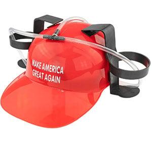 Make America Great Again Guzzler Helmet