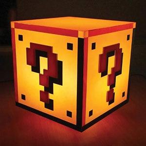 Mario Question Block Lamp