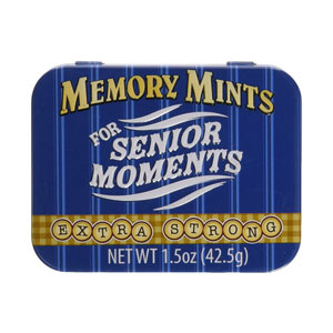 Memory Mints for Senior Moments