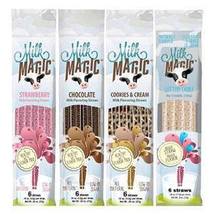 Milk Magic Magic Milk Flavoring Straws
