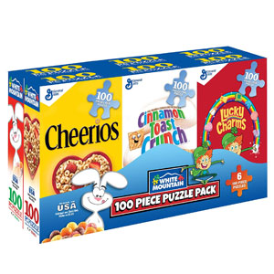 Mini Cereal Boxes Puzzle