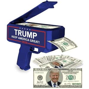 NINOSTAR Donald Trump Money Gun