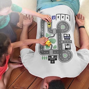 Play Cars on Daddys Back Shirt