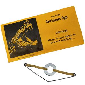 Rattlesnake Eggs Prank Envelopes