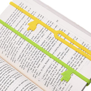 Silicone Finger Point Bookmarks