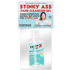 Stinky Ass Hand Sanitizer Prank