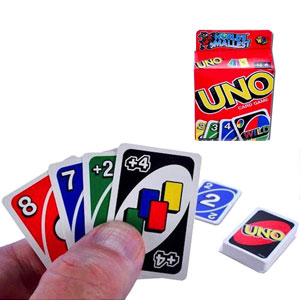 Worlds Smallest UNO Card Game