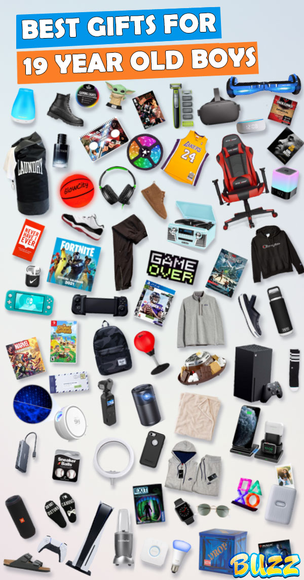 gifts for 19 year old boys