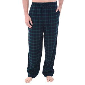 Alexander Del Rossa Mens Lightweight Flannel Pajama Pants