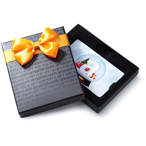 Amazon.com Gift Card in Holiday Style Gift Box