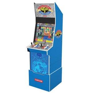 Arcade1Up Street Fighter II Champion Edition Big Blue Arcade Cabinet