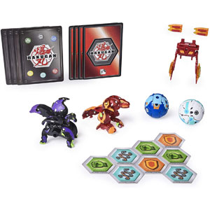 Bakugan Ultra with Baku-Gear 4-PK