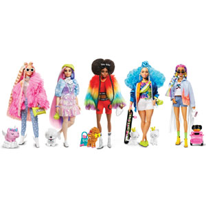 Barbie Extra Fashion Doll Assortment