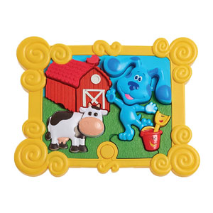 Blues Clues & You! Talking Build-a-Blue Puzzle
