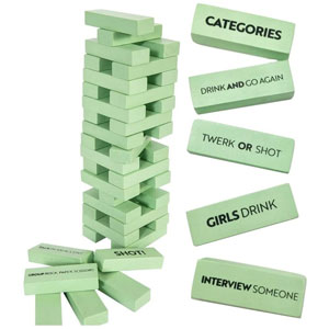 Buzzed Blocks Adult Drinking Game