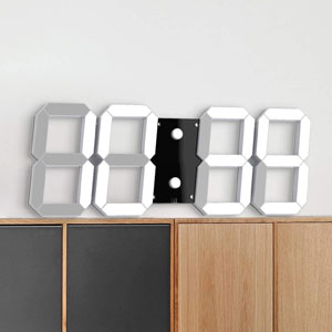 "CHKOSDA Digital Wall Clock with 17.3"" LED Numeral"