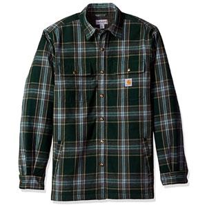 Carhartt Mens Hubbard Sherpa Lined Shirt Jacket