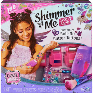Cool Maker Shimmer Me Body Art
