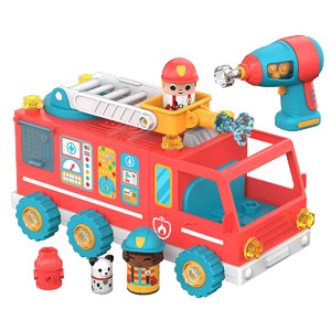 Design & Drill Bolt Buddies Fire Truck