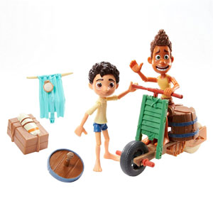 Disney•Pixar Luca Scooter Build & Crash Pack