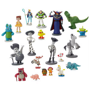 Disney•Pixar Toy Story 25th Anniversary Mega Figurine Set