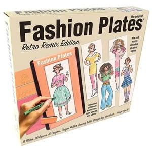 Fashion Plates Retro Remix Edition