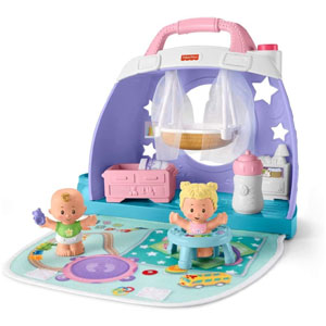 Fisher-Price Little People Cuddle & Play Babys Room
