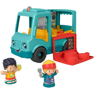 Fisher-Price Little People Serve It Up Food Truck